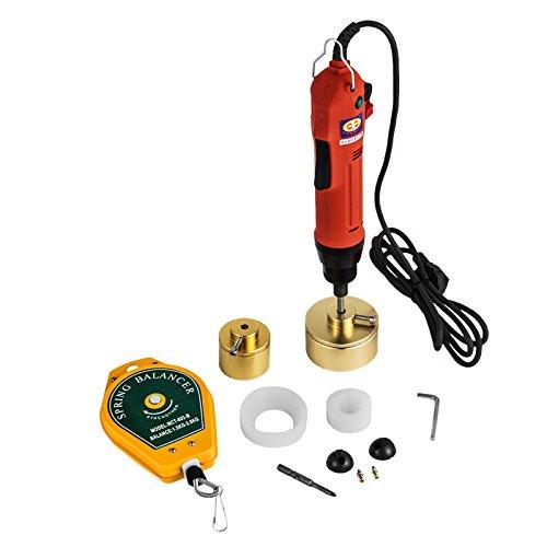 BananaB Elektrische Verschließmaschine 80W Handheld electric Bottle Capping 10-50 mm Screw Capper 220V Screw Ließmaschine (80W)