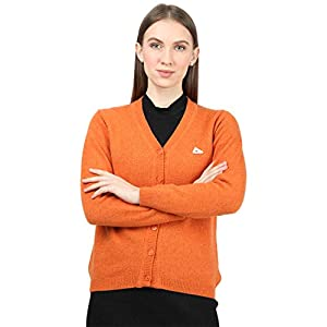 Monte Carlo Women's Wool V-Neck Cardigan 13