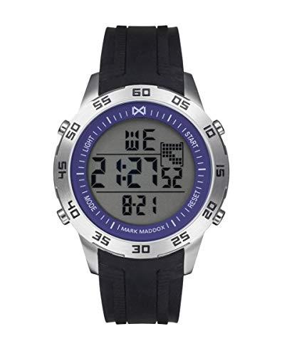 Reloj MARK MADDOX Hombre Digital Caja Acero Correa Caucho