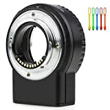 VILTROX NF-M1 Auto Focus Lens Mount Adapter Ring for Nikon F-Mount Lens to Micro M4/3 Olympus Panasonic Cameras
