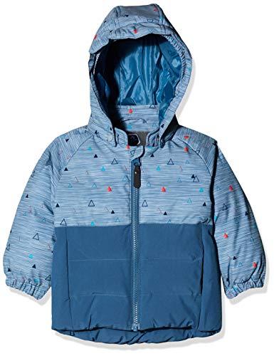 Color Kids Unisex Baby Mini Padded Winterjakke Jacke, Blau (Stellar 1135), (Herstellergröße: 80)