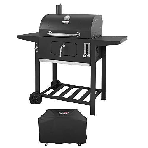 Royal Gourmet 24 Inch Charcoal Grill, BBQ Outdoor Picnic, Patio Backyard...