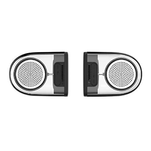 HIOD M22 Bocina Bluetooth un par Transparente Atracción Magnética Diseño Altavoz Inalámbrico