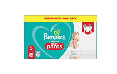 Pampers 81713151 - Baby-dry pants pantalones, unisex