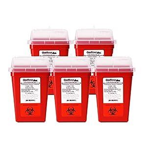 buy  OakRidge Products 1 Quart Size (Pack of 5) Needle ... Diabetes Care