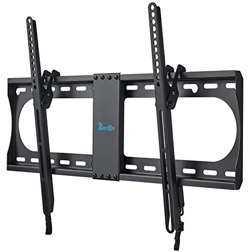 "RENTLIV Supporto TV Inclinabile - Supporto da Parete per TV da 37-70"", Max VESA 600x400, Staffa Ultra Resistente 60kg con livella a bolla, Cavo HDMI e Fascette"