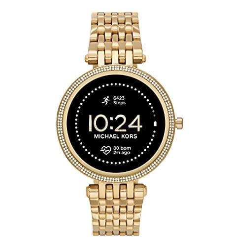 Michael Kors Smartwatch GEN 5E Darci Connected da Donna con Wear OS by Google, Frequenza Cardiaca, GPS, Notifiche per Smartphone e NFC