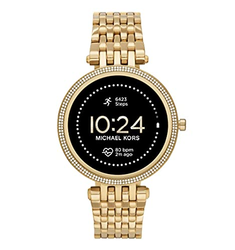 Michael Kors Smartwatch GEN 5E Darci Connected da Donna con Wear OS by Google, Frequenza Cardiaca, GPS, Notifiche per Smartphone e NFC