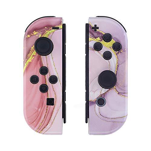eXtremeRate Carcasa para JoyCons de Nintendo Switch Funda de Agarre Shell Cubierta...