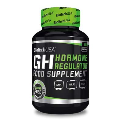BIOTECH USA GH HORMONE REGULATOR (120 CAPS)