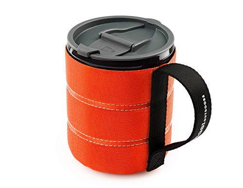GSI Outdoors FBA_1304.1974 Backpacker Tasse, Orange, Einheitsgröße