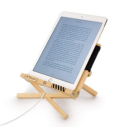 Director s BookChair Leggio per Libro iPad Tablet eReader Libro di Ricette Regalo Supporto di Riposo per la Lettura - Nero