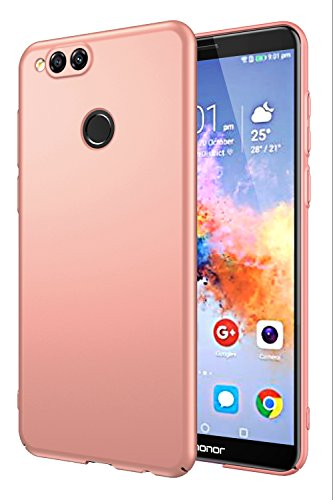 EIISSION Huawei honor 7X Custodia,Ultra sottile che cade superficie protettiva opaca Custodia / case / cover per Huawei honor 7X...