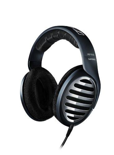 Sennheiser HD 515 Gaming Headphone - Auriculares (Circumaural, 14-26000 Hz, 50 Ohmio, Alámbrico, 3 m, 255 g) Negro