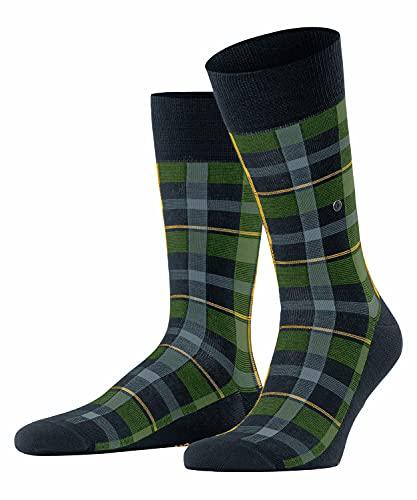 Burlington Herren Heritage Check M SO Socken, Blau (Marine 6120), 40-46 (UK 6.5-11 Ι US 7.5-12)