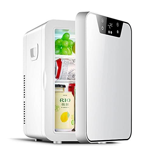 Frigoríficos mini Mini Refrigerador para Automóvil Congelador Caja De Limpieza De Oficina Refrigerador Doméstico Pequeño Cosméticos De Conservación Fresca (Color : Blanco, Size : 30 * 24 * 35cm)