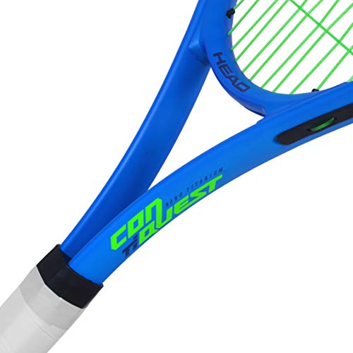 Product Image 3: HEAD Ti. Conquest Tennis Racket – Pre-Strung Head Light Balance 27 Inch Racquet – 4 1/4 In Grip