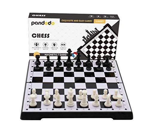 国際チェス-チェス-セット-知能ゲーム,親子関係ゲーム,子供の贈り物-磁気チェス-家庭 娯楽 ゲーム,子供のための初心者のチェスセッ,トラベルチェスセット