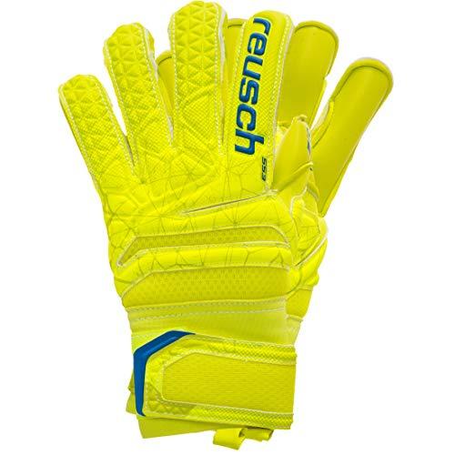 Reusch - Fußball-Spielerhandschuhe für Jungen in lime / safety yellow / lime, Größe 4.5