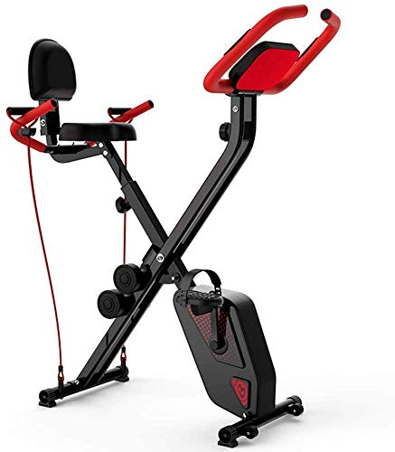 Find Bargain AMITD Spinning Aerobic Exercise Bike, Foldable Fitness Exercise Bicycles with Resistanc...