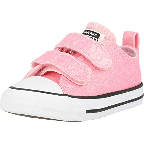 Converse Chuck Taylor All Star 2V Coated Glitter Rosa/Schwarz (Cherry Blossom/Black) Synthetik 24 EU
