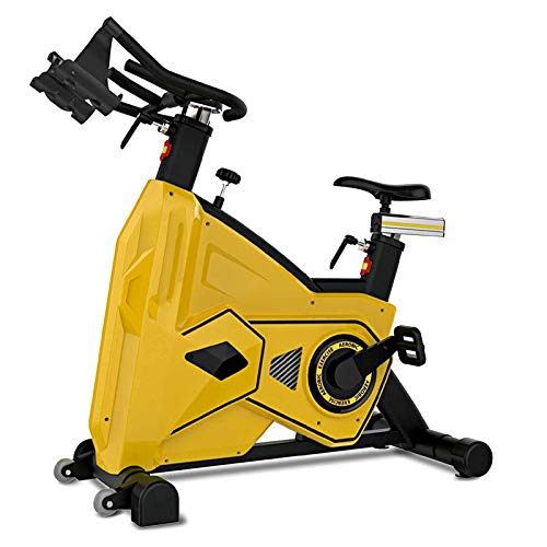 WJFXJQ Grupo Comercial de Adultos BS-3600C / Bicicleta de Giro - Amarillo/Negro, Talla única