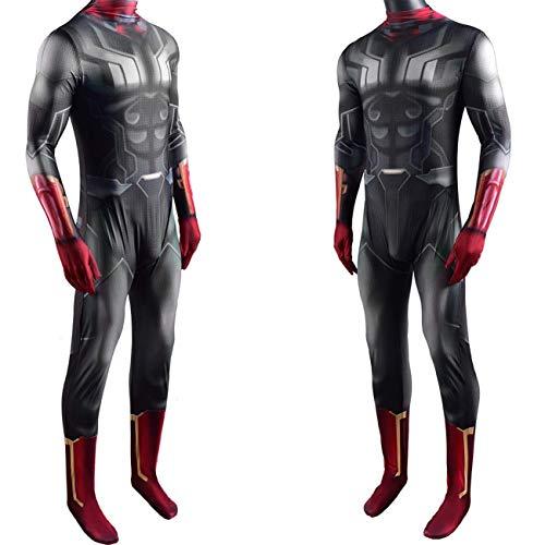 NVHAIM Los Vengadores se extienden el Traje, los superhroes Halloween Cosplay Disfraces para los nios, el Disfraz de Vestido de Lujo de Spandex,Kids M