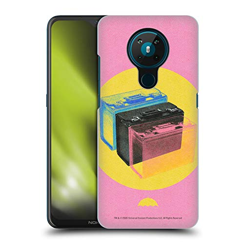 Official The Umbrella Academy Suitcase Season 2 Graphics Hard Back Case Compatible for Nokia 5.3