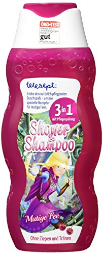 TETESEPT Shower & Shampoo Mutige Fee 200 ml Duschgel