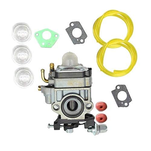 Dureza 1Ajuste multifunción Gasolina desbrozadora Trimmer carburador fit for TimberPro Industrial (Color : Silver)