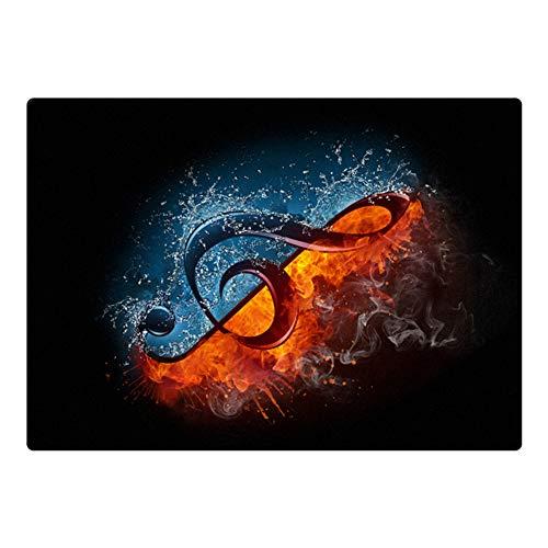 ZXHH rutschfeste Trommel Teppiche Quadratische Schallschutzdecke,Schlagzeugteppich Für E-Drum-Kits Bass Drum Snare Und Andere Core Set-Komponenten Matte rutschfeste Teppiche (160cm * 120cm)