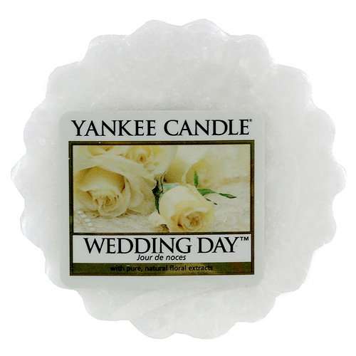 Yankee Candle Tarts theelichtjes kaarsen, wax, Wedding Day, 8,4 x 6,1 x 1 cm