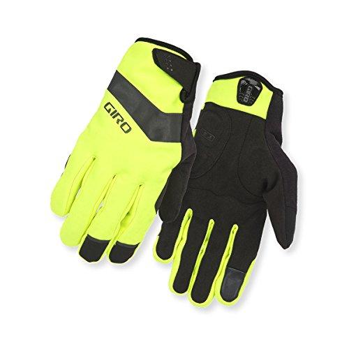 Giro Fahrradhandschuh Ambient Soft Shell Highlight Yellow XXL, Highlight Yellow/BLK