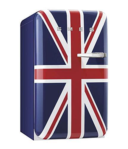 Smeg FAB10LDUJ2 Union Jack - Bisagra para nevera (izquierda y derecha, clase A++, dimensiones 960 x 543 x 632 cm, volumen bruto: 118 L)