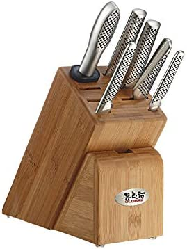Global Takashi 7Piece knife Block Set product image
