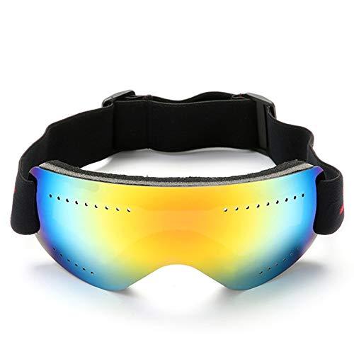 N\A Gafas de Snowboard de esquí Snowboard Goggles UV Protección Snowboard Skate Skate Eyewear Gafas Máscara A Prueba de Viento Ciclismo al Aire Libre Invierno Sports Ski Gafas (Color : Red)