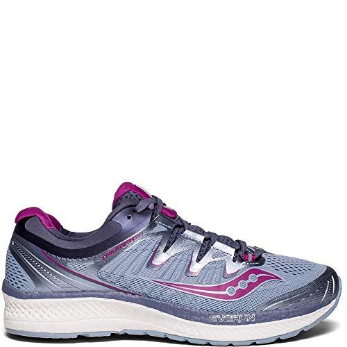 Saucony Women's Triumph ISO 4 Running Shoe, Fog/Grey, 5...