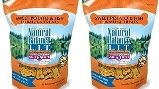 Natural Balance L.I.T. Sweet Potato and Fish Formula Dog treats, Small Breed, 16-Ounce (2 Packs 8 ounce each)