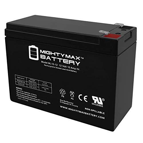 Mighty Max Battery 12V 10AH SLA Replacement Battery for 13447, 134471 Brand Product