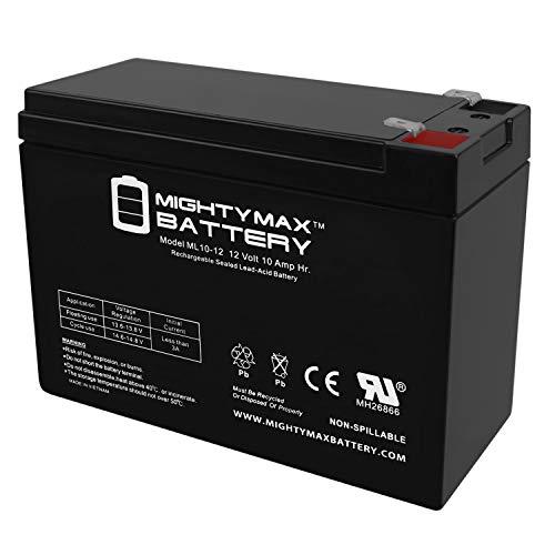 Mighty Max Battery ML10-12 - 12 Volt 10 AH SLA Battery Brand Product