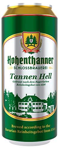 Deutsche Bierspezialitäten in der Dose (24 x 0,5l Hohenthanner Tannen Hell)