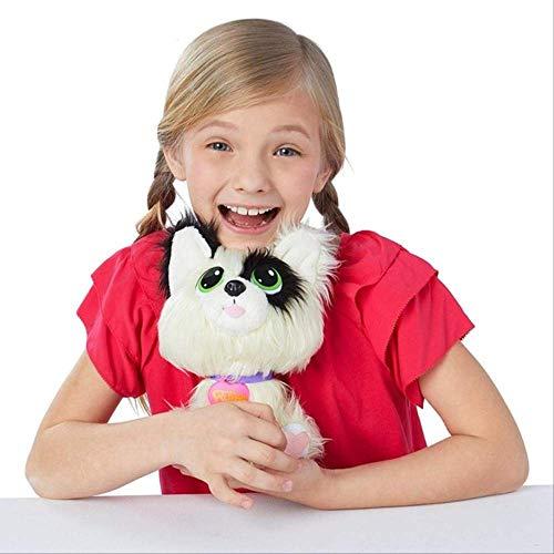 Rescue Runt Animal Plüschtier Kinder Geschenk Tier Floh Hund Elfen Elfe Auf Dem Regal Mädchen Spielzeug Für Kinder 21cm Lila