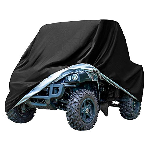 GES ATV Cover Outdoor Protection, Universal ATV Quad Bike Cover - Impermeable, Heavy-Duty, Anti-UV (XXL)