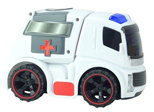 TOYLAND Vehículo de Ambulancia de Emergencia con Potencia d
