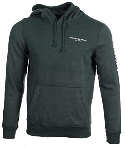 Abercrombie & Fitch Sudadera para hombre. verde L
