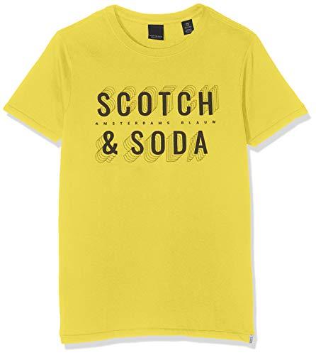 Scotch /& Soda Short Sleeve Tee T-Shirt Bambino
