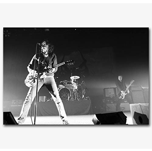 RUIYAN Leinwandbilder Wandbilder Chris Cornell Soundgarden Rockmusik Bandleader Poster Drucken Mt90Z 40X60Cm Ohne Rahmen