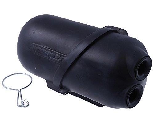 Luftfilter DOPPLER Air Box 35mm schwarz für Benelli 491 RR 50 / Replica 50 (bis Bj. 2003) (Minarelli-Motor)