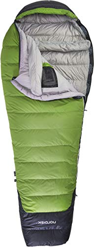 Nordisk Celsius -18° Mumienschlafsack Schlafsack, Peridot Green/Grey/Black Down Filling - XL