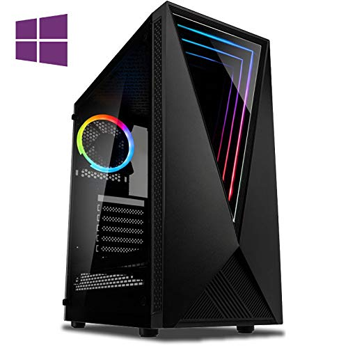 Vibox CX- 11 Gaming PC Computer with 2 Free Games, Windows 10 Pro OS (4.2GHz Intel i3 Quad-Core Processor, Nvidia GeForce GTX 1050 Ti Graphics Card, 8GB DDR4 2400MHz RAM, 1TB HDD)